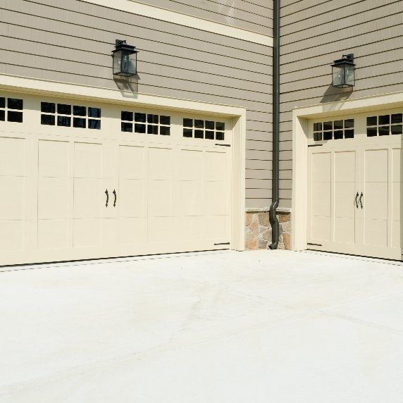 One and Two Car Garage Doors