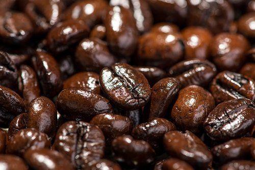 dei chicchi di caffè'
