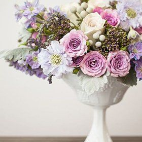 Beautiful bouquet of flower in a vase