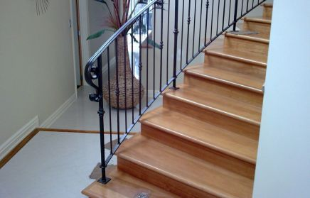 Wrought iron products such as stairs in Auckland