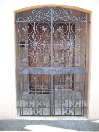 Wrought iron gate in Auckland