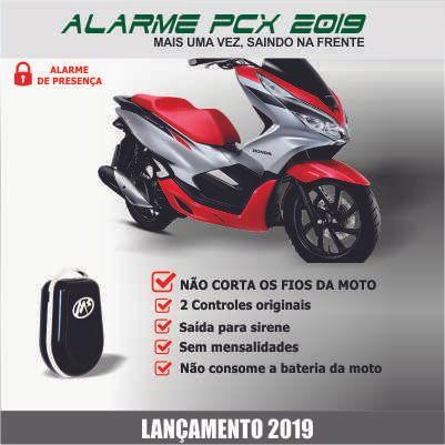 alarme de presença para moto new shock
