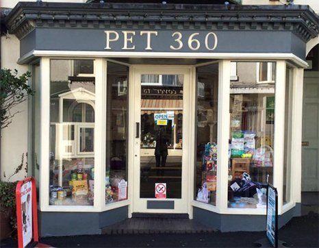 Pet 360 shop front