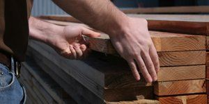 Hands on lumber