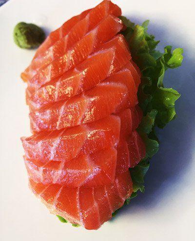 salmone a fette