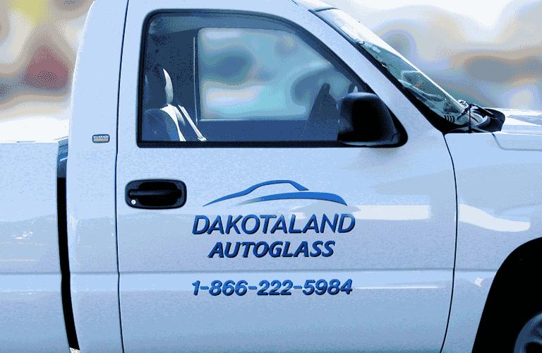 cb8905a427 Dakotaland logo - vehicle wrap in Fargo