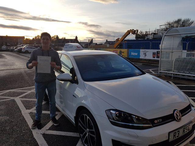 Dadvanced Driving Instructor - Friockheim,- RSC School of Motoring - Driving Lessons