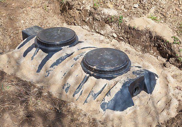 4000 liter domestic septic tank in Shreveport