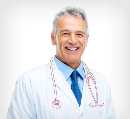 medico che sorride