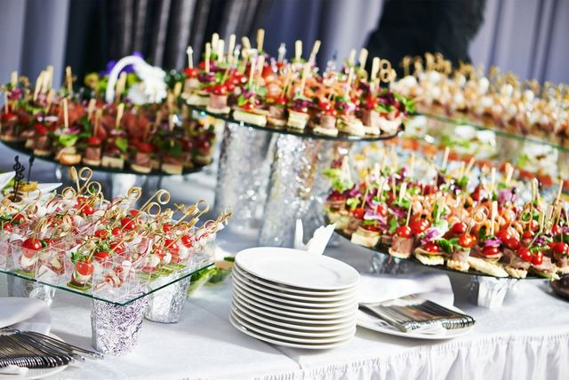 buffet for a function