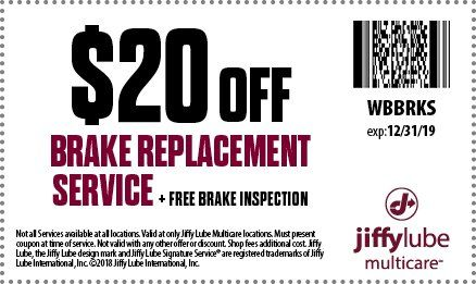 jiffy lube coupons 2019 carlsbad