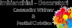 IMBIANCHINI DECORATORI COMANDINI WIDMER E FANTINI CHRISTIAN - LOGO
