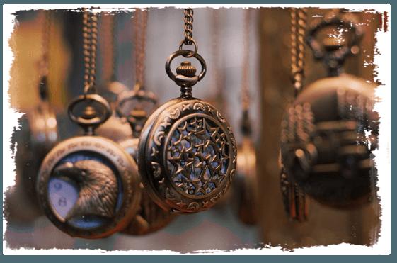 Unique vintage jewellery
