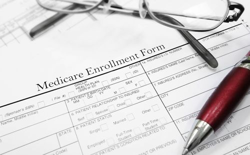 Medicare service form in Clinton, WA