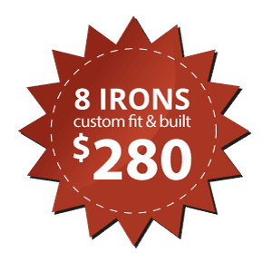 8 Irons Custom Fit & Built at Northland Golf & Ski in La Crosse WI
