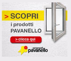 Locandina dei prodotti a marchio Pavanello