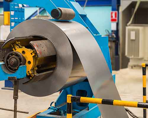 macchina per la piegatura del metallo