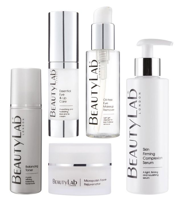 Beauty Lab facial products