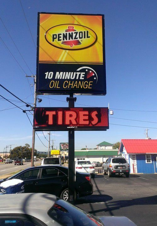 Oil change that counts in Russellville, AR