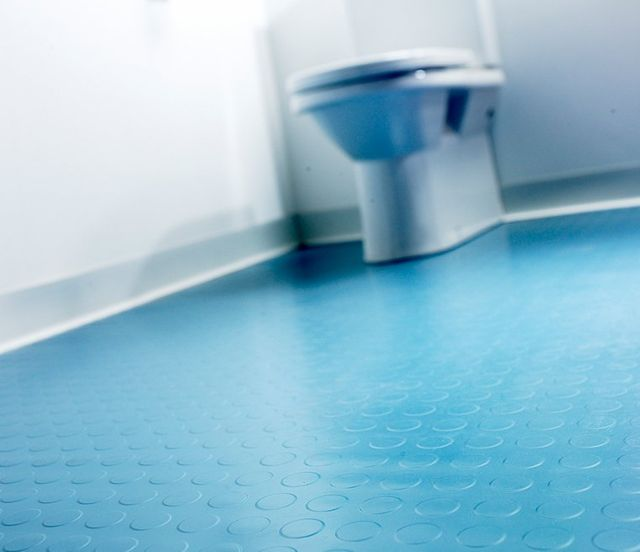 Bathroom Flooring. Rubber Flooring