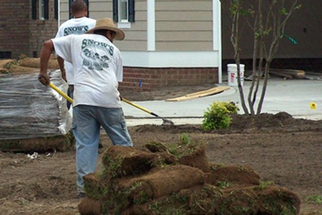 Snow's Landscaping & Lawncare | Sod