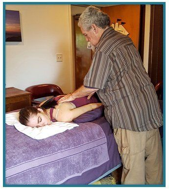 Receive minimal treatments involving adjustments, chiropractic care, physical therapy, or acupuncture.
