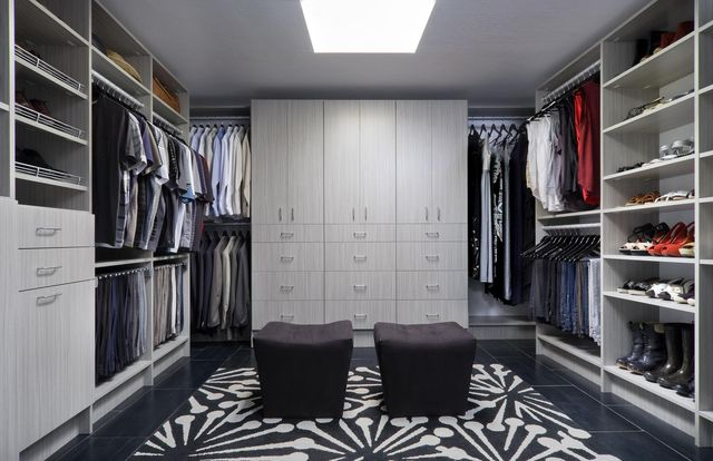 Custom Walk In Closet System