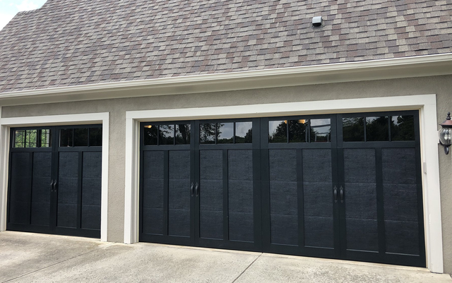 New Haas Door Commercial Aluminum Garage Door Series