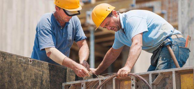 Professionals providing building construction services