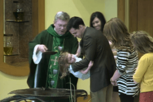Baptism of child