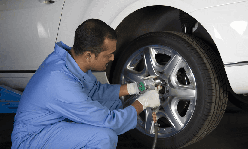 Tyre replacement expert