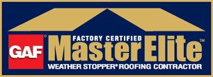 Factory Certified Master Elite Weather Stopper Roofing Contractor