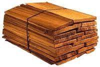 Long lasting and weather resistant cedar wood shake