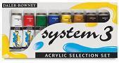 DALER-ROWNEY®  SYSTEM 3 SELECTION SET