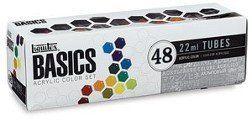 LIQUITEX®  BASICS 48 ACRYLIC COLOR SET