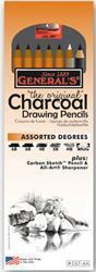 GENERAL'S® ORIGINAL CHARCOAL PENCIL SET