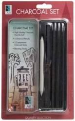 Art Alternatives charcoal art tin set