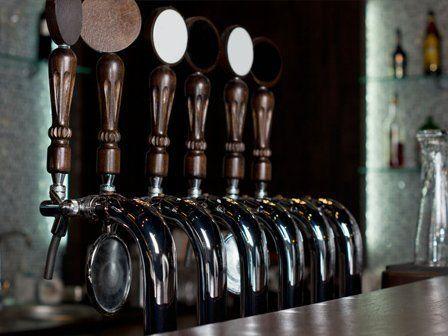 Bar beer tap