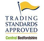 Trading Standards Approved Central Bedfordshire logo
