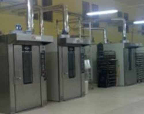 forni industriali per la produzione di pane