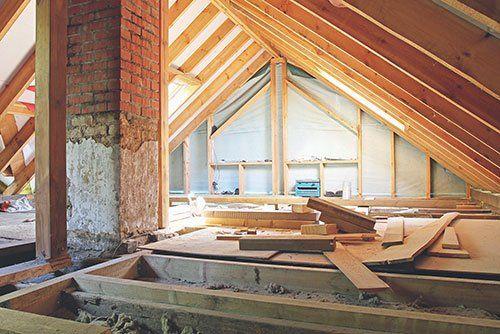 Rifacimento di un tetto. Ristrutturazioni Generiche di Silvano Gattino a La Loggia