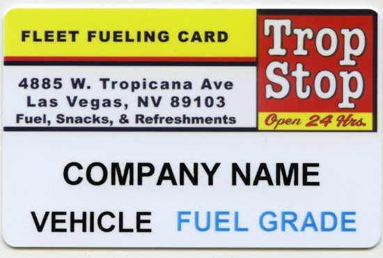 trop strop gas card fleet card for vehicle in las vegas nv - Fleet Card