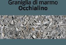 Graniglia di marmo Occhialino
