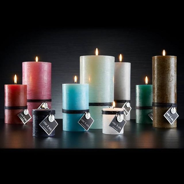 Stylish and charming Danish candles