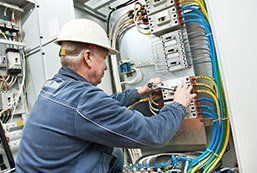 wiring an industrial site