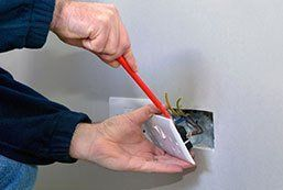 removing a wall socket