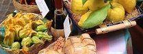 prodotti biologici, prodotti conservati sott'olio, prodotti di stagione
