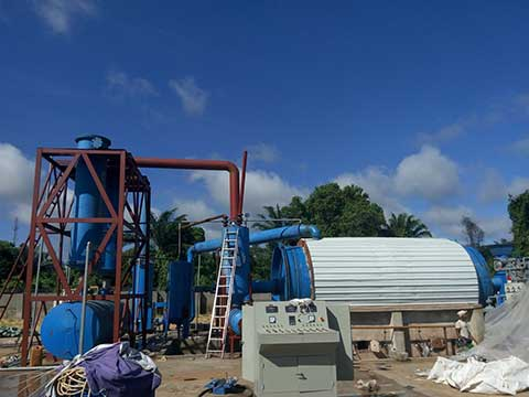 Buy A Beston Waste Tyre Pyrolysis Plant to Provide You With