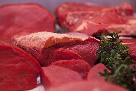 della carne rossa