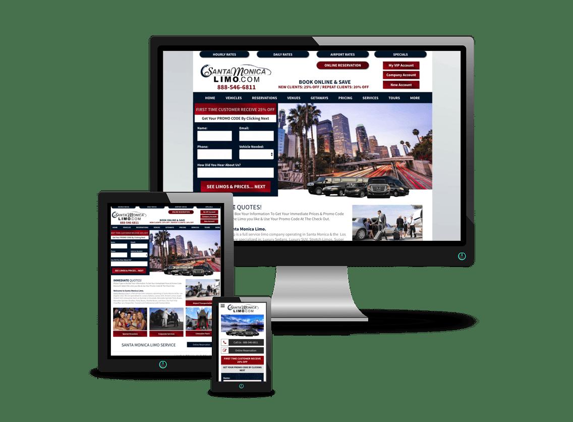 Mobile website mobile responsive web design